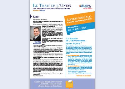 Edition spéciale élections professionnelles – Mars 2016